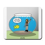 Fishbowl Hard Hat Diver Mousepad