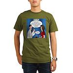 Dentist Dating Organic Men's T-Shirt (dark)