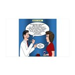 Dentist Dating 35x21 Wall Decal