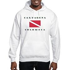 Cartagena Colombia Dive Hoodie
