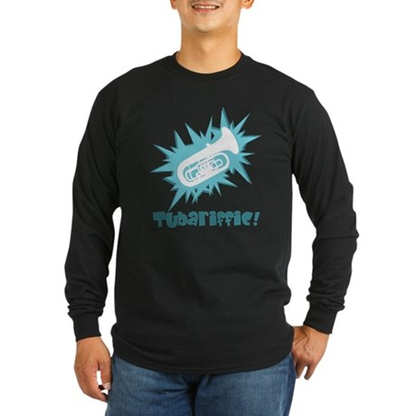 Tubariffic Long Sleeve Dark T-Shirt