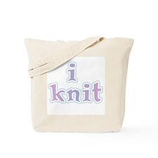 I Knit Tote Bag