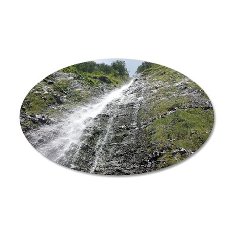 Under Waimoku Falls Wall Decal