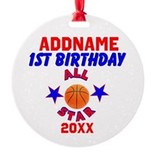 1 YR OLD SPORTS Ornament
