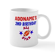 2 YR OLD FOOTBALL Mug