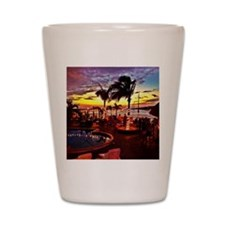 Sunset Grill Key West Shot Glass