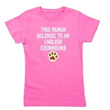 This Human Belongs To An English Coonhound Girl's