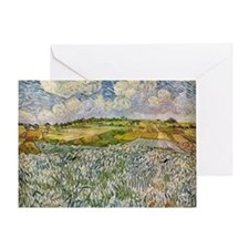Wheatfields Greeting Card