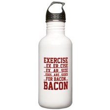 Exercise Bacon Water Bottle