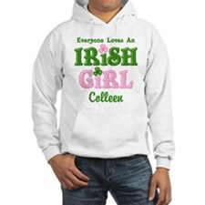 Personalized Loves An Irish Girl Hoodie