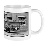 Fire Engine Ladder Truck Mug