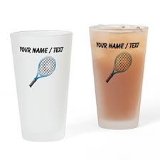 Custom Tennis Racket Drinking Glass