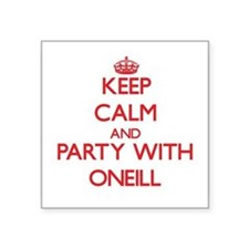 Keep calm and Party with Oneill Sticker