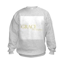 Gold Grace It's Amazing Sweatshirt