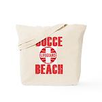 Bocce Beach Tote Bag