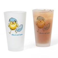 Personalized Hatching Chick Drinking Glass