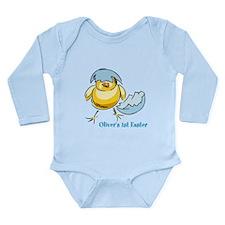 Personalized Hatching Long Sleeve Infant Bodysuit
