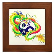 Narcotics Anonymous Dragon Framed Tile