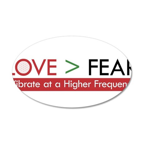 LOVE FEAR 2 Wall Decal
