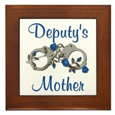 Deputy's Mother Framed Tile