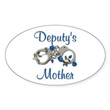 Deputy's Mother Oval Decal
