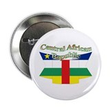 Central Africa flag ribbon Button