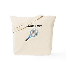 Custom Tennis Racket Tote Bag