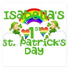 Baby St. Patricks Day Invitations