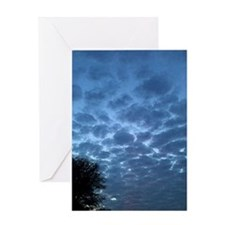 Cloudy Evening Greeting Card