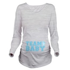 Team Baby Boy Long Sleeve Maternity T-Shirt