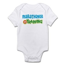 Marathoner In Training Infant Bodysuit