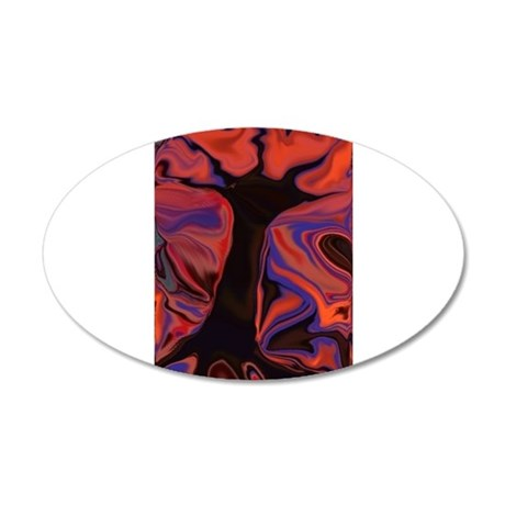 Tree of Fire Wall Decal
