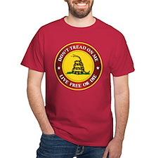 DTOM Gadsden Flag (logo) T-Shirt