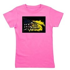 gadsden_kitchen towel Girl's Tee