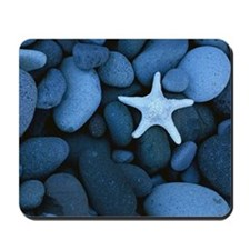 Blue_Starfish Mousepad