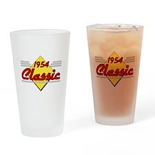 1954 Classic Birthday Drinking Glass