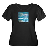 Stingray City Grand Cayman Women's Plus Size Scoop