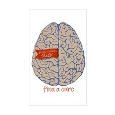 Find A Cure Stickers