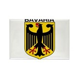 Bavaria Rectangle Magnet (10 pack)