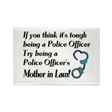 Tough Mother in Law Rectangle Magnet