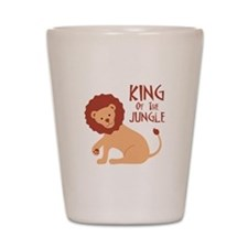 King Of The Jungle Shot Glass