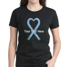 Personalized Light Blue Ribbo Tee