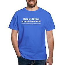 binary-white T-Shirt