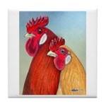 Buttercup Pair Tile Coaster