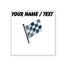 Custom Checkered Flag Sticker