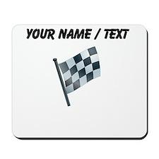 Custom Checkered Flag Mousepad