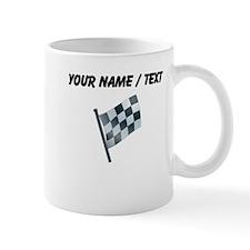 Custom Checkered Flag Mugs