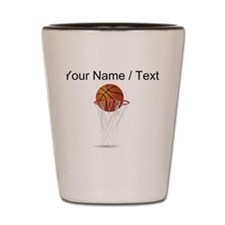 Custom Basketball Hoop Shot Glass