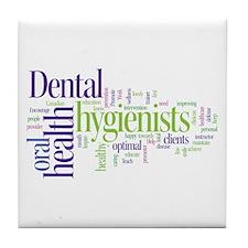 Cute Hygienist Tile Coaster