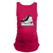 Figure Skating Skates Maternity Tank Top